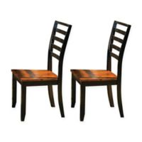 Steve Silver Co. Abaco Dining Room Side Chairs in Cherry (Set of 2)