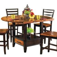 Steve Silver Co. Abaco Double Counter Height Dining Table in Cherry