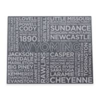 Top Shelf Living Wyoming Etched Slate Cheese Board