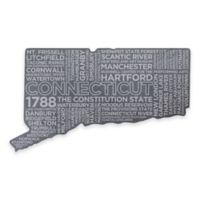 Top Shelf Living Connecticut Etched Slate Cheese Board