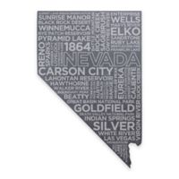 Top Shelf Living Nevada Etched Slate Cheese Board