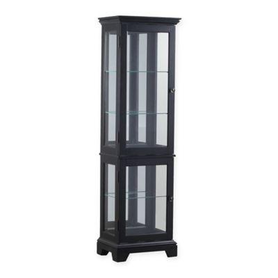 buy lighted glass shelves from bed bath beyond. Black Bedroom Furniture Sets. Home Design Ideas