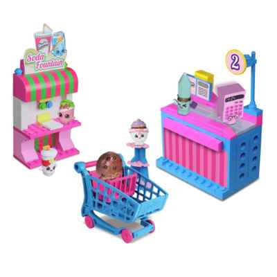 Shopkins Kinstructions Mini-Pack Buildable Play Set Collection