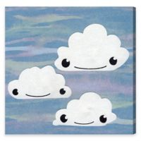 Olivia's Easel Clouds 43-Inch x 43-Inch Canvas Wall Art