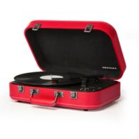 Crosley Suitcase Turntable in Red