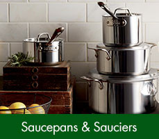 Saucepans and Sauciers