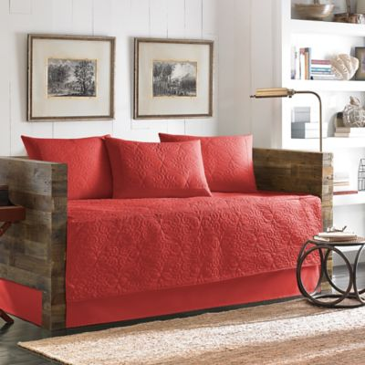 tommy bahama nassau spice 5piece daybed set in red