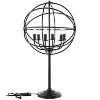 Modway Atom 6-Light Table Lamp in Black
