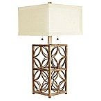 Arden Table Lamp with Shade in Gold