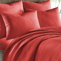 Tommy Bahama® Nassau Spice Pillow Sham in Red