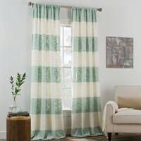 KAS ROOM Carina 84-Inch Rod Pocket Window Curtain Panel in Mist