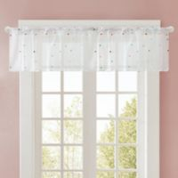 Regency Heights Nanni Embroidery Sheer Valance in White