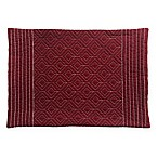 Quilted Placemat in Burgundy