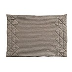Quilted Placemat in Taupe
