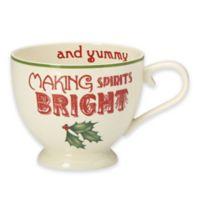 Lenox® Holiday® Coffee and Cake Mug