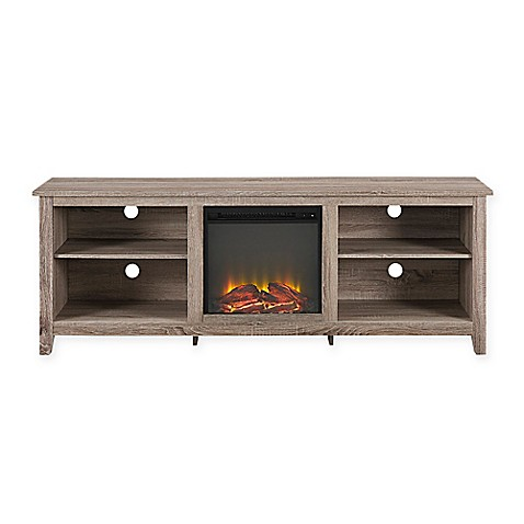 buy walker edison 174 essential 70 inch fireplace tv console
