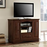 Walker Edison 42-Inch TV Console in Brown