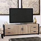 Forest Gate 70-Inch Wood TV Console in Driftwood