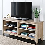 "Forest Gate 58"" Wood Media TV Stand Console in Natural"