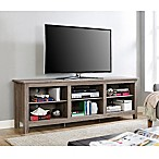 Forest Gate 70-Inch Wood TV Stand in Driftwood