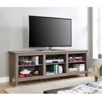 Walker Edison 70-Inch Wood TV Stand in Driftwood