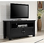 Forest Gate Cortez TV Console in Black