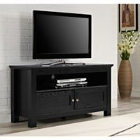 Walker Edison® 44-Inch TV Stand Console in Black