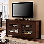 Forest Gate TV Console with Door in Brown