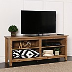 "Forest Gate 58"" Wood Media TV Stand Console in Barnwood"