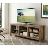 Walker Edison 70-Inch Barnwood TV Stand
