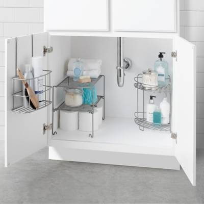 Product Image For Salt 4 Piece Bathroom Cabinet Organization In A Box 3 Out