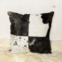 Torino™ Quatro 18-Inch Square Throw Pillow in Black/White