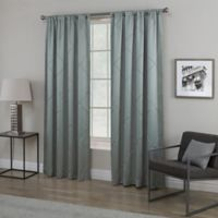 Empress 108-Inch Rod Pocket Window Curtain Panel in Spa