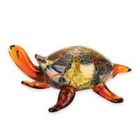 Badash Firestorm Art Glass Turtle