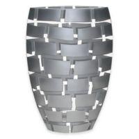 Badash Silver Wall 12-Inch Vase