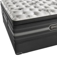 Beautyrest Black® Sonya™ Luxury Firm Pillow Top Low Profile Twin XL Mattress Set