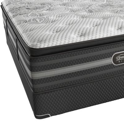 Buy Beautyrest Black Natasha Plush Pillow Top California King Mattress From Bed Bath Beyond