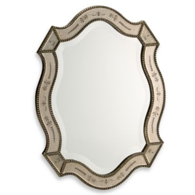 Buy oval mirrors from bed bath beyond for Fancy oval mirror