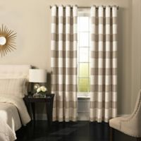 Beautyrest® Gaultier 84-Inch Grommeted Blackout Window Curtain Panel in Natural