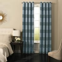 Beautyrest® Gaultier 84-Inch Grommeted Blackout Window Curtain Panel in Spa