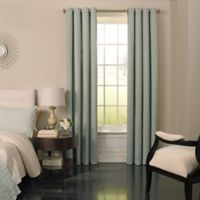 Beautyrest® Malbrouk 84-Inch Grommeted Blackout Window Curtain Panel in Spa