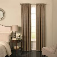 Beautyrest® Barrou 108-Inch Grommeted Window Curtain Panel in Taupe