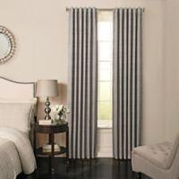 Beautyrest® Barrou 95-Inch Grommeted Window Curtain Panel in Smoke