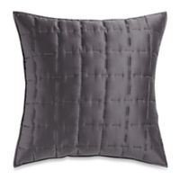 DKNY Sketch European Pillow Sham in Charcoal