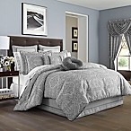 J. Queen New York™ Colette Queen Comforter Set in Silver