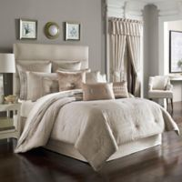 J. Queen New York™ Wilmington Queen Comforter Set in Alabaster