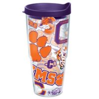 Tervis® Clemson University 24 oz. All Over Wrap Tumbler with Lid