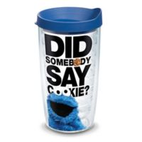 "Tervis® Cookie Monster ""Did Somebody Say Cookie?"" 16 oz. Wrap Tumbler with Lid"