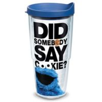 "Tervis® Cookie Monster ""Did Somebody Say Cookie?"" 24 oz. Wrap Tumbler with Lid"