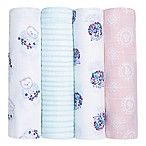 Aden + Anais ® 4-Pack Thistle Swaddle Blankets in Multi